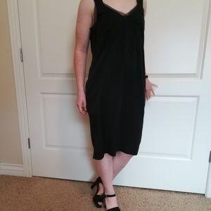 NWT Simply Vera Wang Black Slip Dress